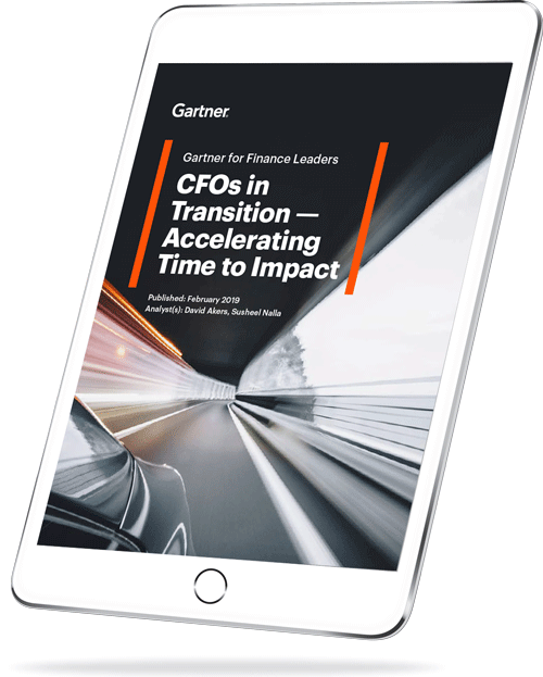 New CFO Research on Accelerating Time to Impact