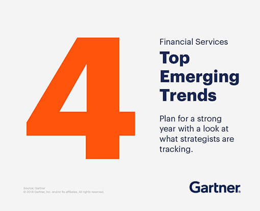 Financial services top emerging trends. Plan for a strong year with a look at what strategists are tracking.