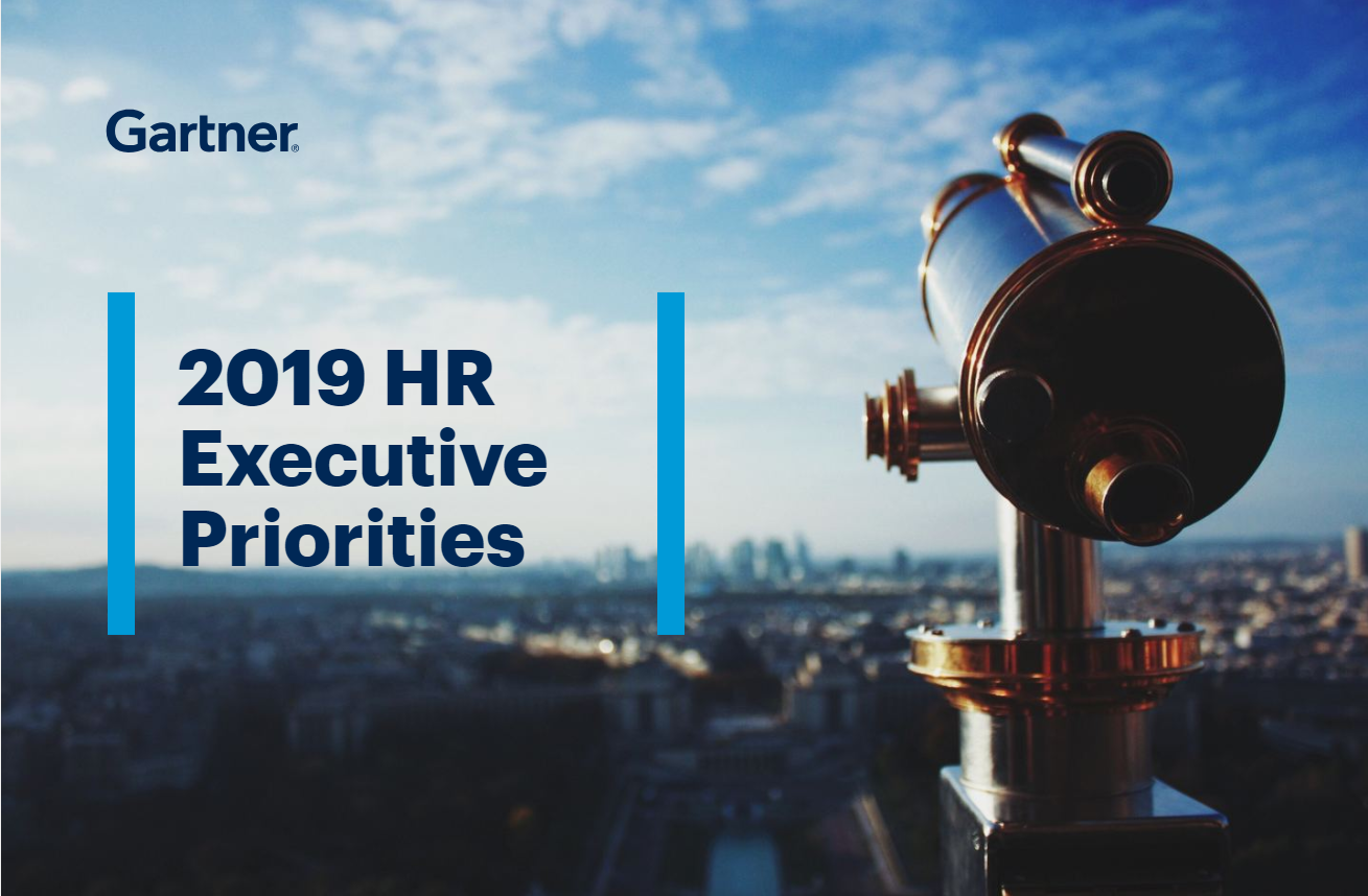 The Future of HR: 2019 Executive Priorities