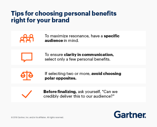 Tips for choosing personal benefits right for your brand