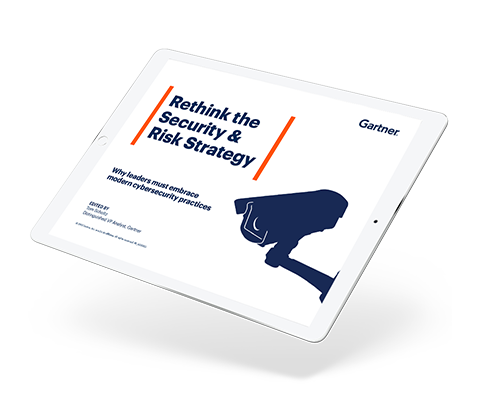 Rethink Security and Risk Strategy ebook